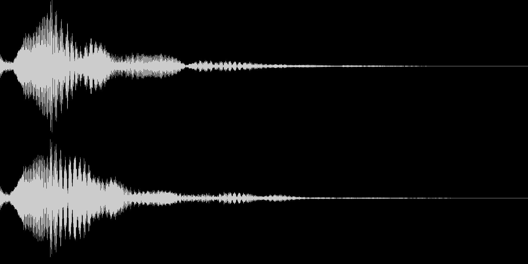 ピコリン(キャンセル03)の未再生の波形