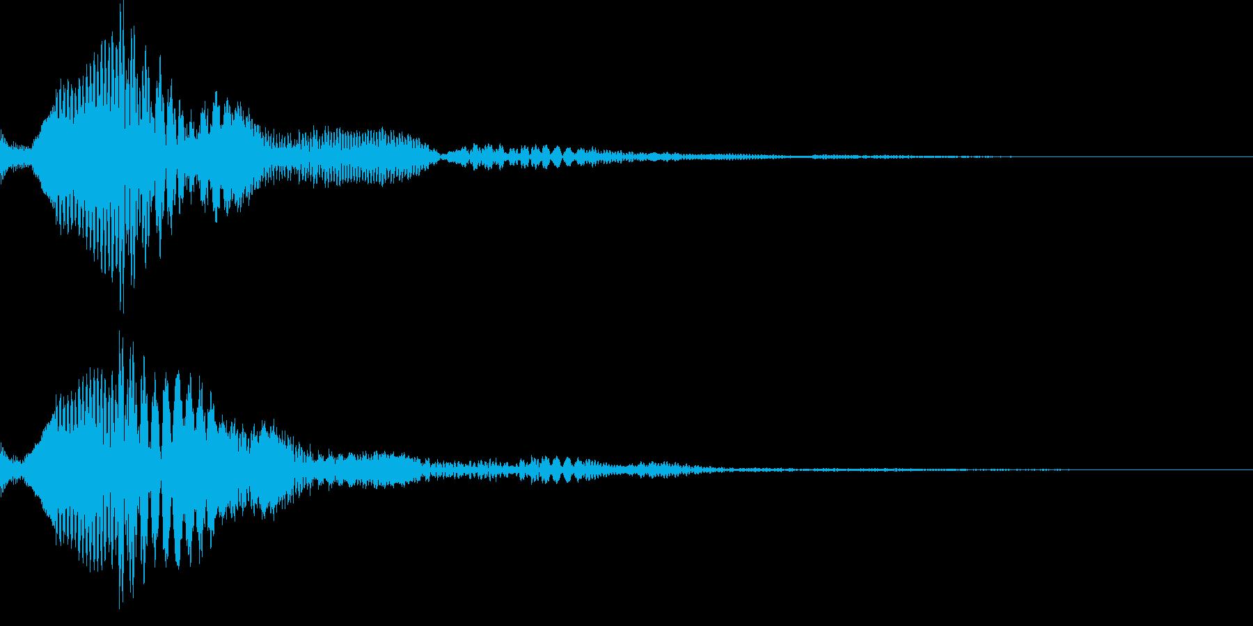 ピコリン(キャンセル03)の再生済みの波形