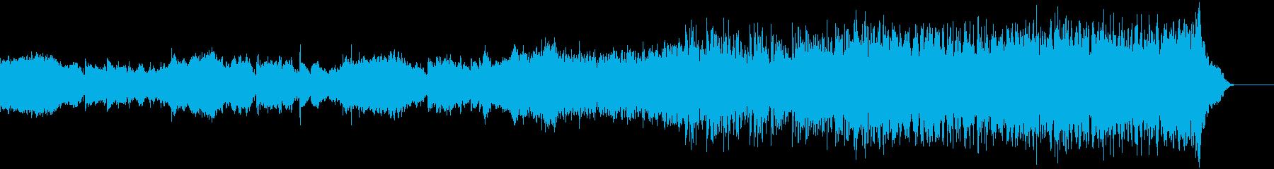 スリリングなオーケストラサウンドの再生済みの波形