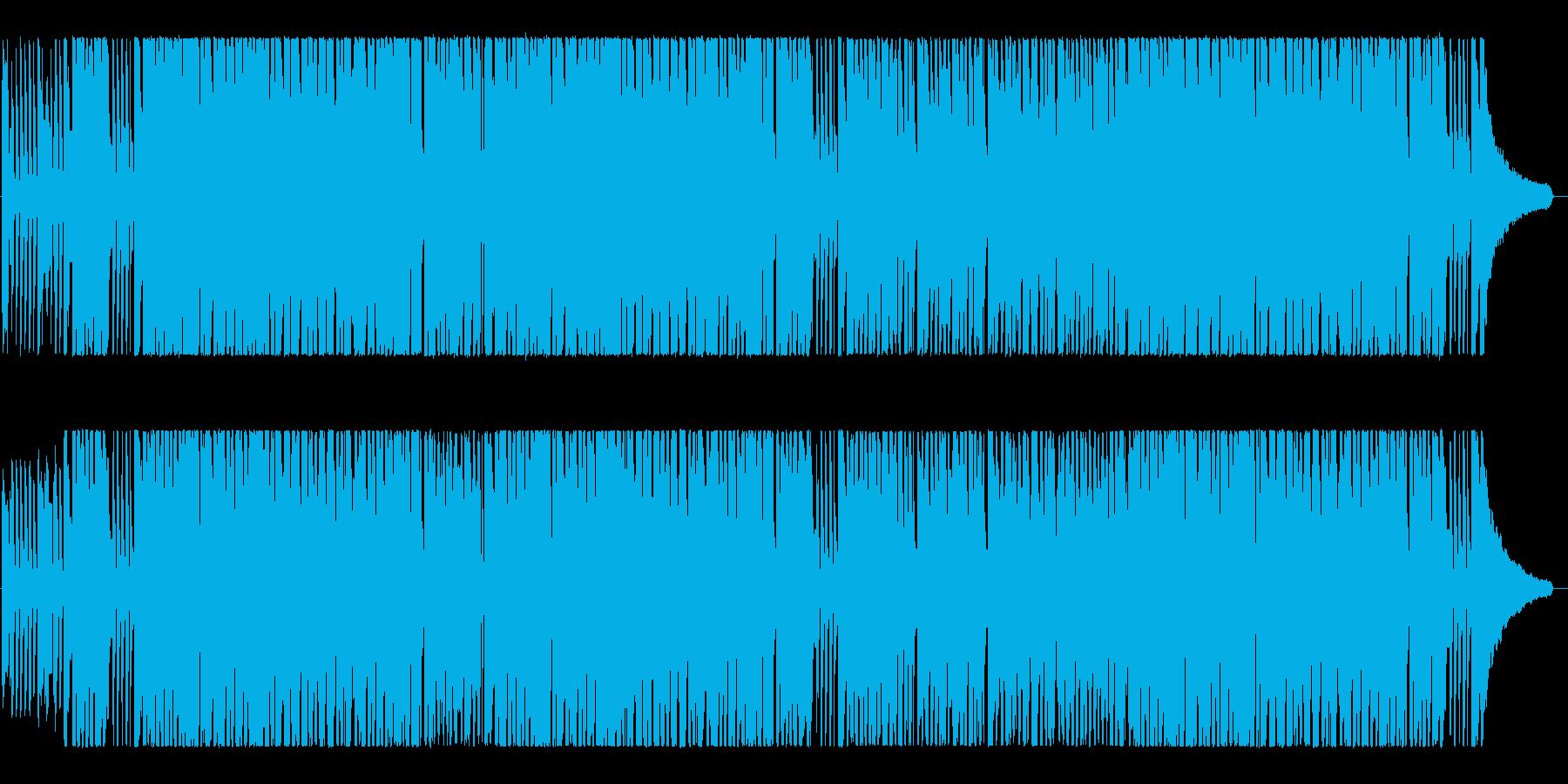 ポップなクリスマス「ひいらぎ飾ろう」♪の再生済みの波形