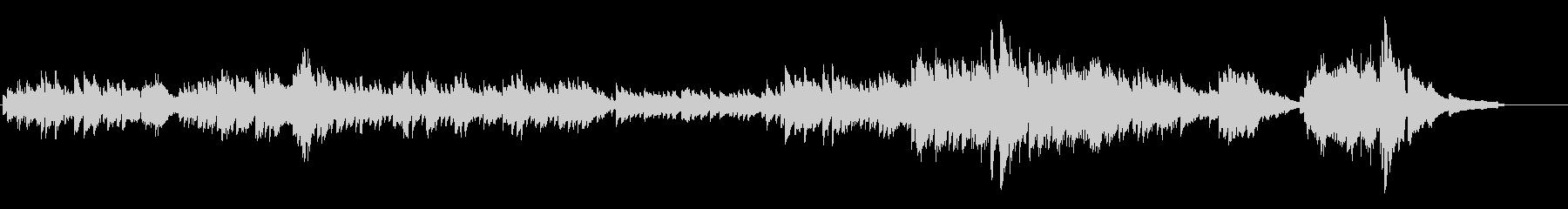ピアノソロクラシックの未再生の波形