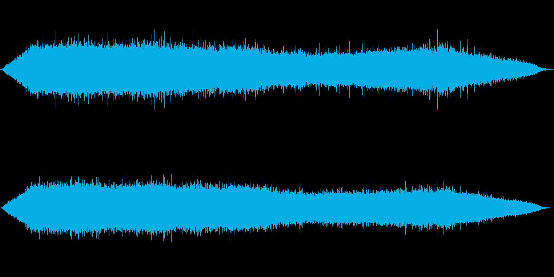雨 雨音(夕立ち、豪雨、にわかあめ等)4の再生済みの波形