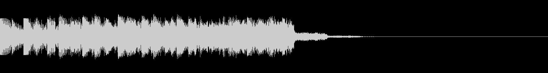 パチンコ的アイテム獲得音10(SU04)の未再生の波形