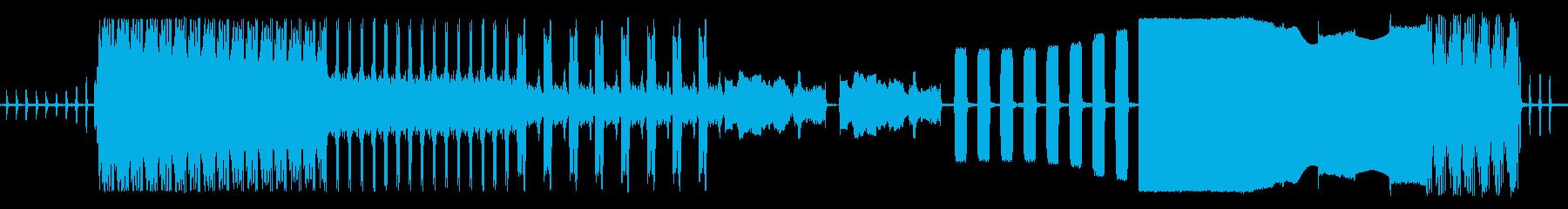 車のアラームバイパーモデルフルシーケンスの再生済みの波形