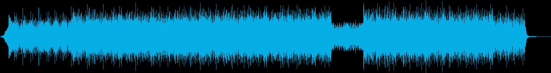 エレクトロ、ダークテクスチャー 緊迫感の再生済みの波形