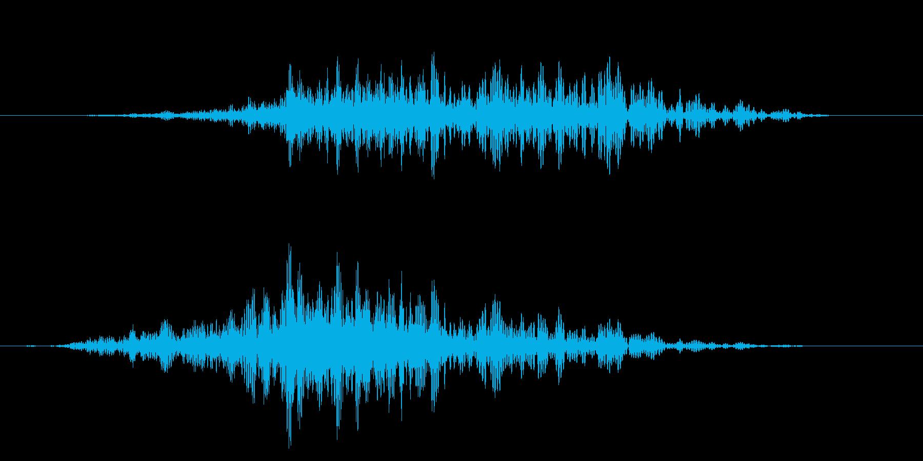 シャッ!カットインや風切り/場面転換に6の再生済みの波形