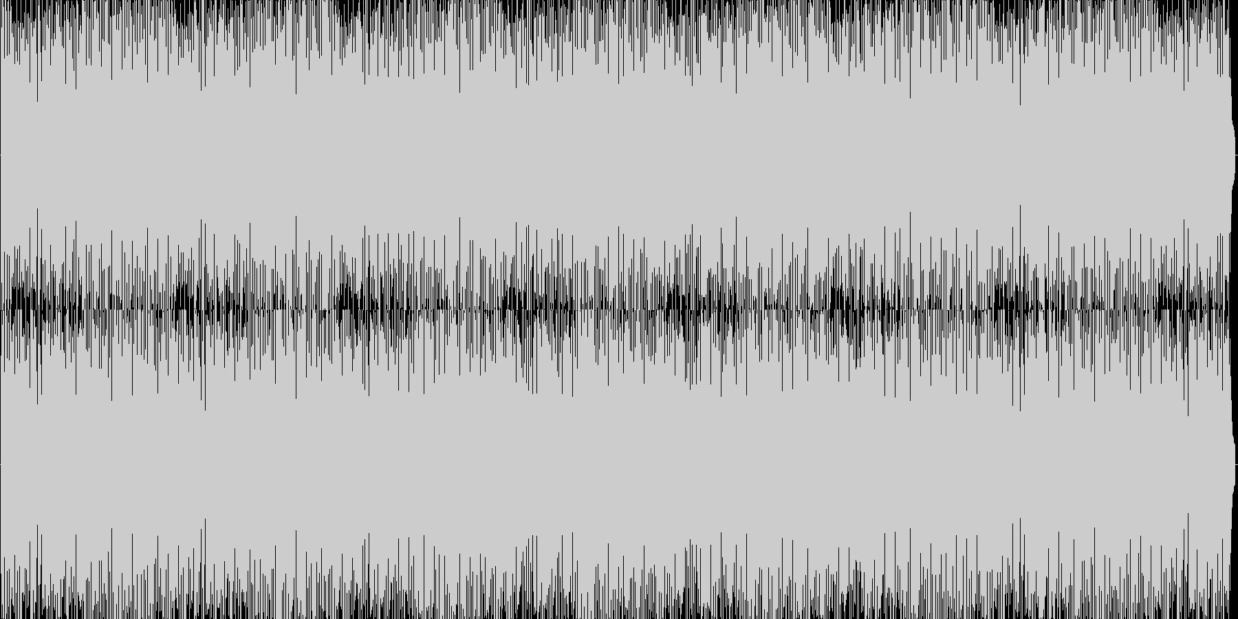 ピアノジャズポップお洒落ミドルテンポ7分の未再生の波形