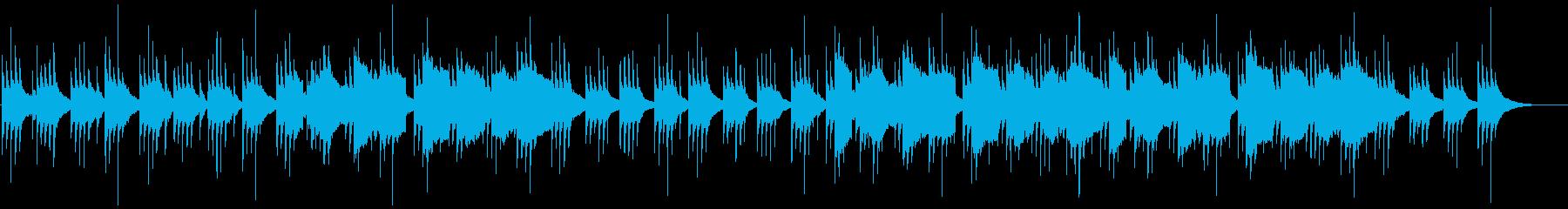 和風 尺八と琴のリラックスBGMの再生済みの波形