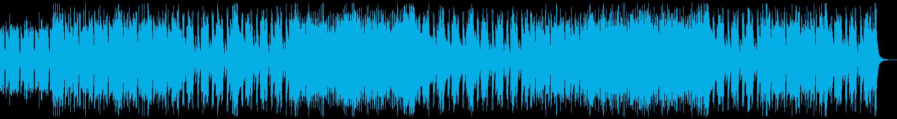 和楽器・和風・サムライヒーロー:三味線抜の再生済みの波形