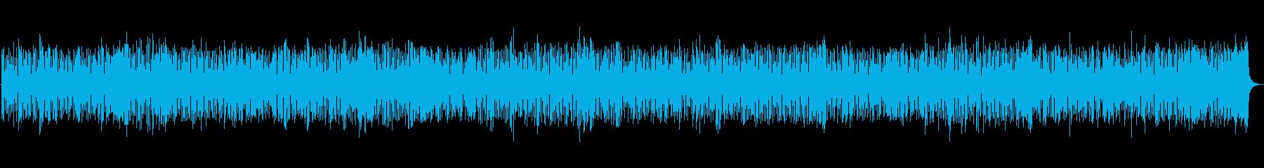 ズンチャズンチャ日常シンプルジャズピアノの再生済みの波形