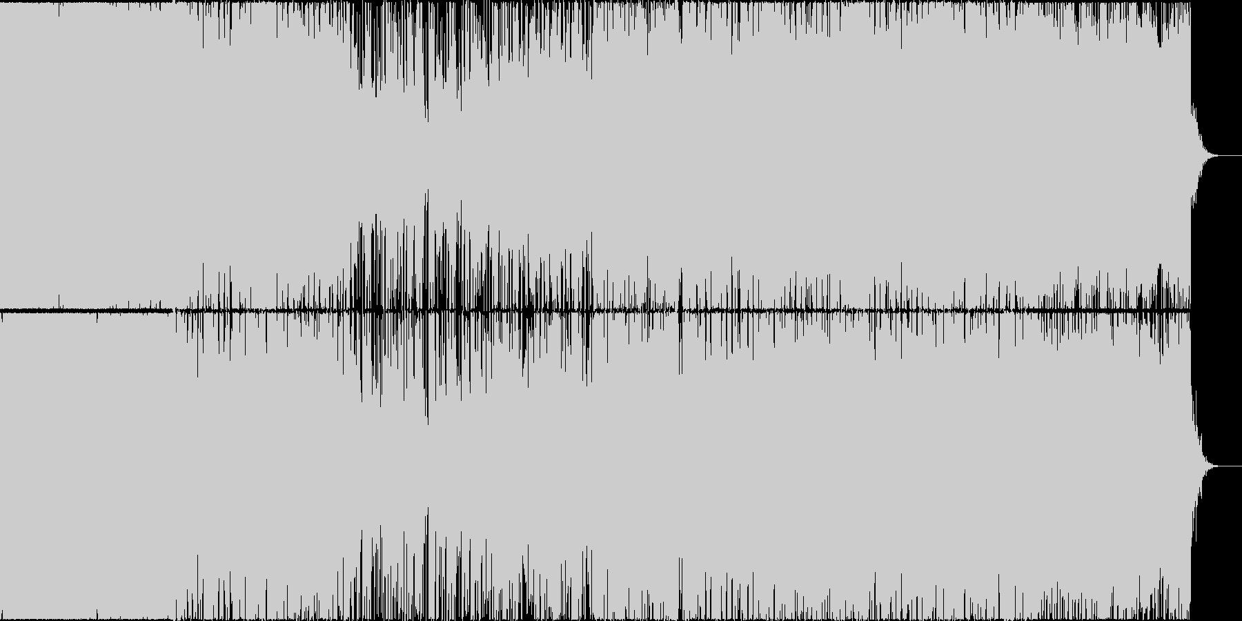 哀愁感漂うピアノのメロディーの未再生の波形