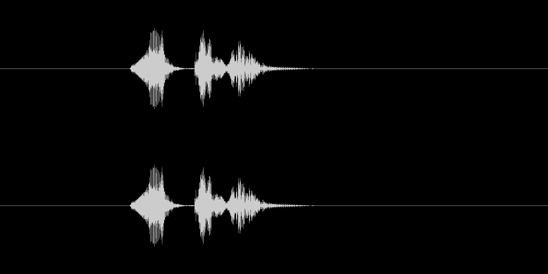 ナッケドゥンの未再生の波形