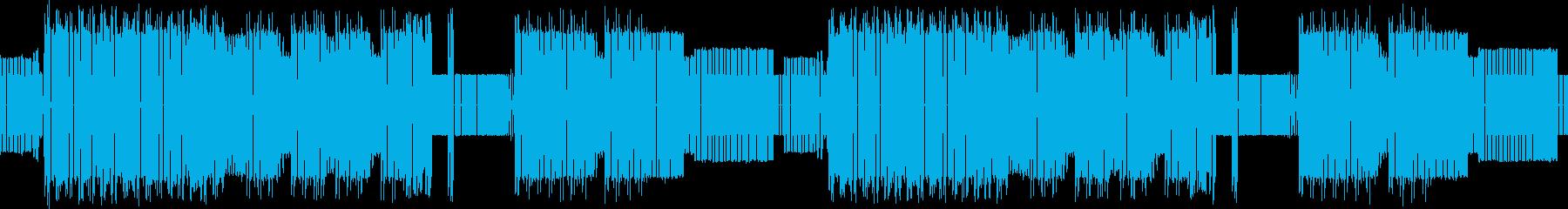 ループ用・8bit・戦闘曲・疾走感・勇者の再生済みの波形