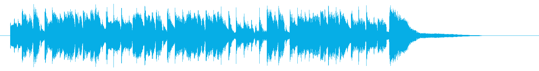 躍動感ある可憐なピアノポップジングルの再生済みの波形