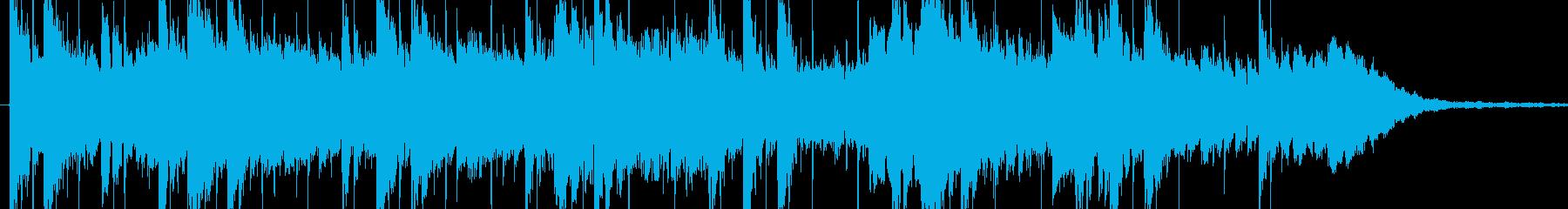 電気楽器。きらめく、スペーシーな溝...の再生済みの波形