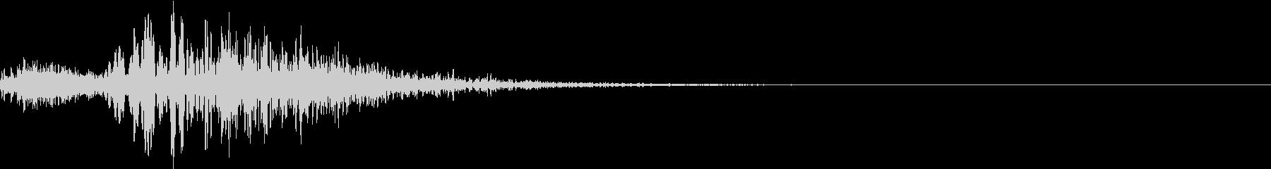 効果音 プィーップォの未再生の波形