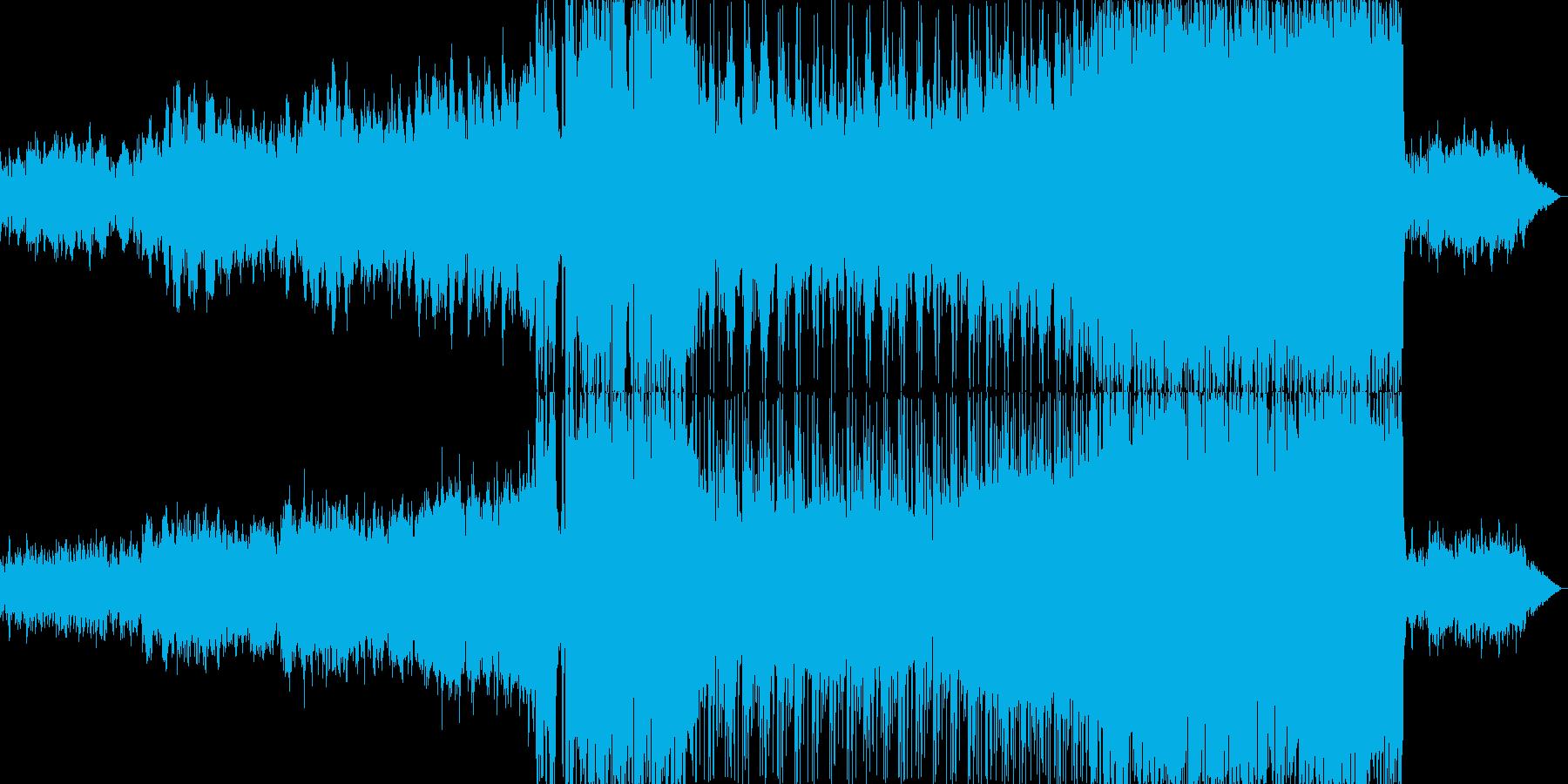 ピアノが印象的な寂しい雰囲気のバラード2の再生済みの波形