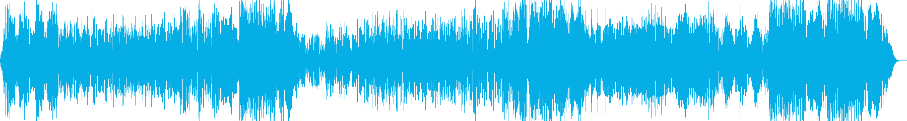 洒落たコードに電子なリズムの再生済みの波形