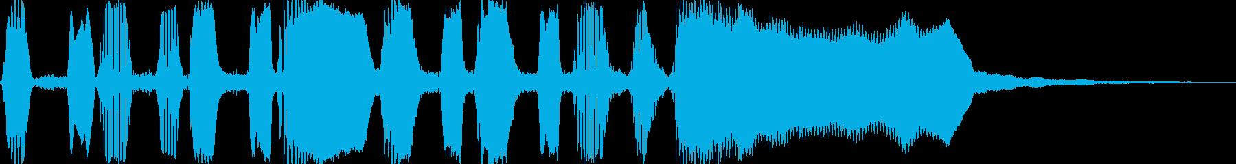 突撃ラッパ(生演奏)の再生済みの波形