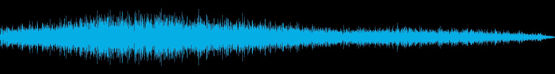 【ワーッ!】スタジアムでの歓声/チャンスの再生済みの波形