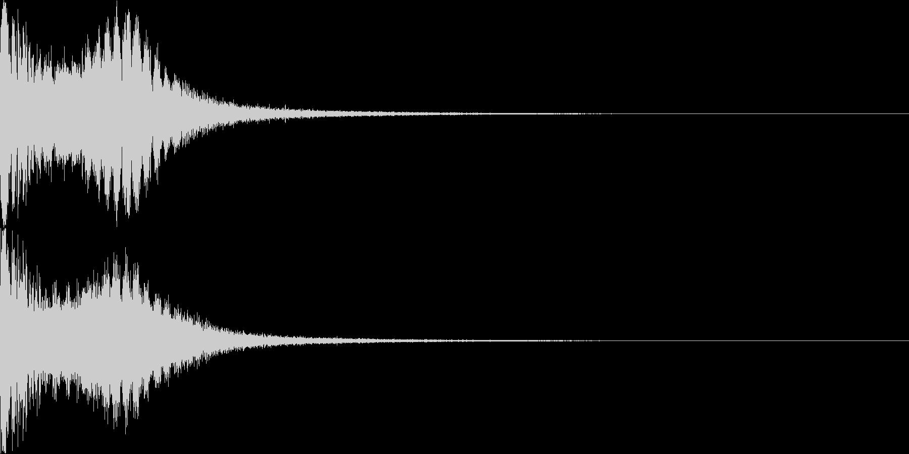 ロボット 合体 ガシーン キュイン 01の未再生の波形