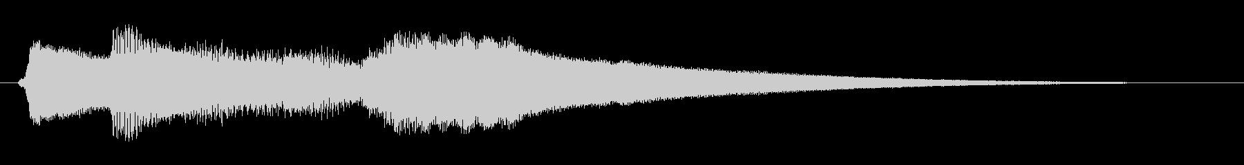 ミステリー&ホラー・発見・導入音1の未再生の波形
