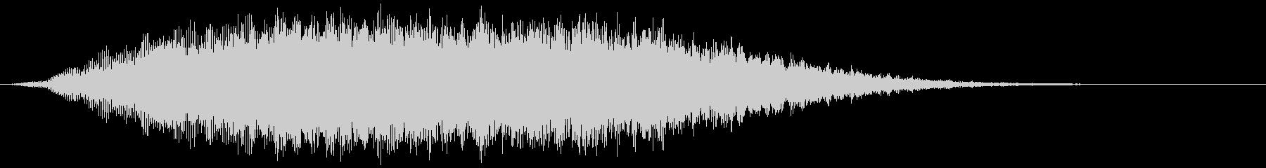 音で主張しすぎないタイトルシーン_04の未再生の波形