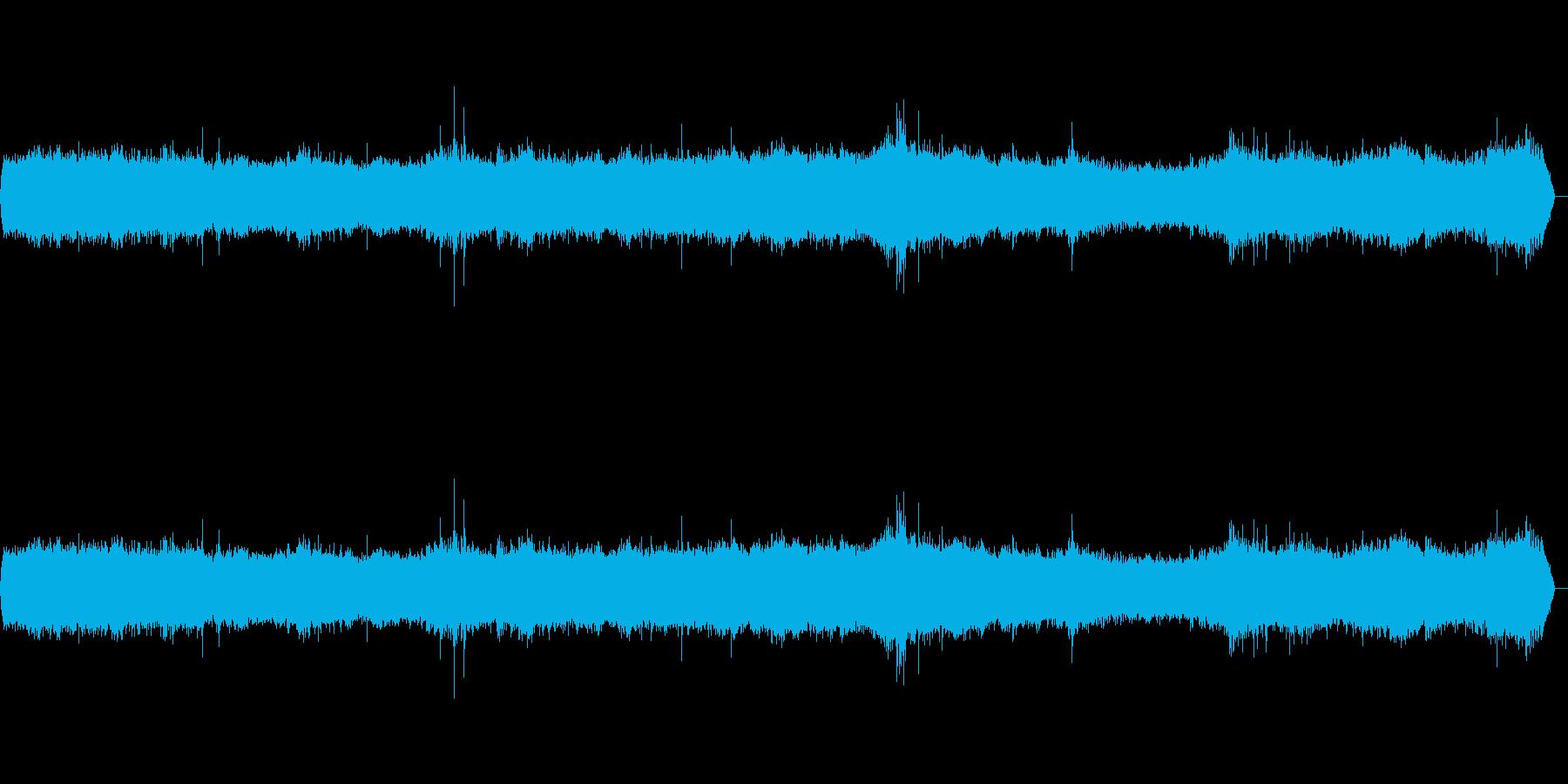 波の海岸-重い-波-風の再生済みの波形