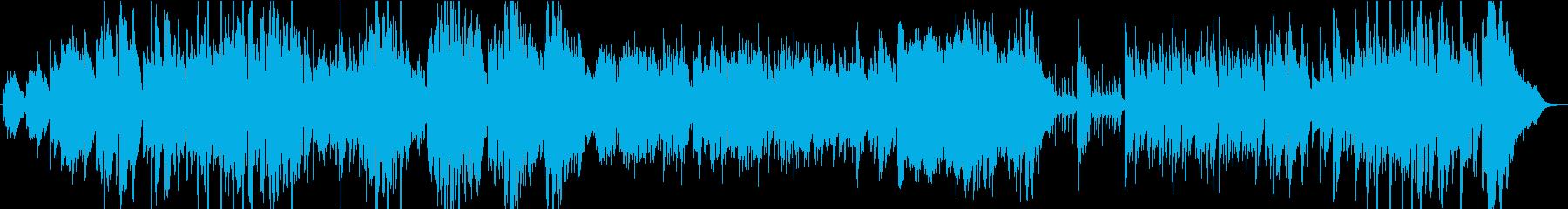 ジャズ。ソロトロンボーンとピアノラ...の再生済みの波形