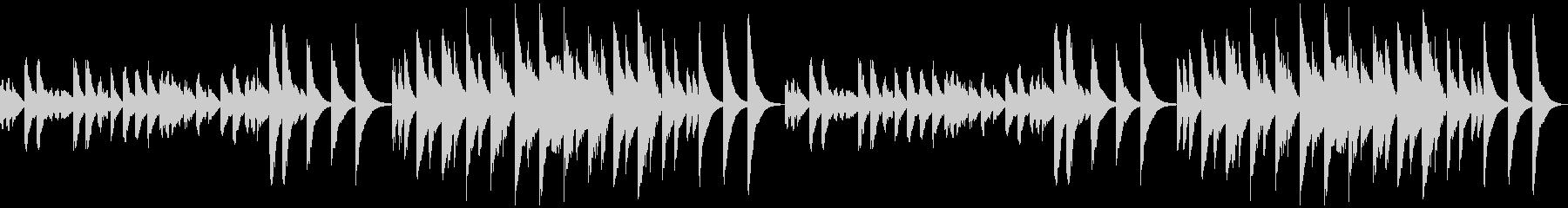 3分クッキングの原曲(マリンバ)ループの未再生の波形