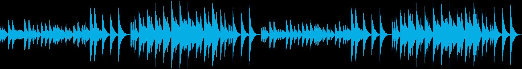 3分クッキングの原曲(マリンバ)ループの再生済みの波形