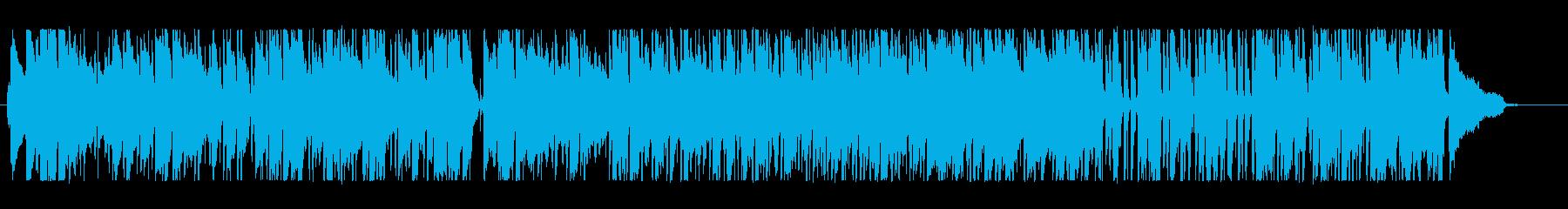 晴れやかでオシャレなサックス生演奏の再生済みの波形