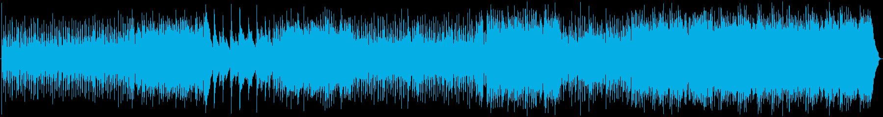 ドライビンググルーブとアップビート...の再生済みの波形
