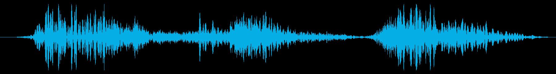 ワーム モンスター ゲーム コンテニューの再生済みの波形