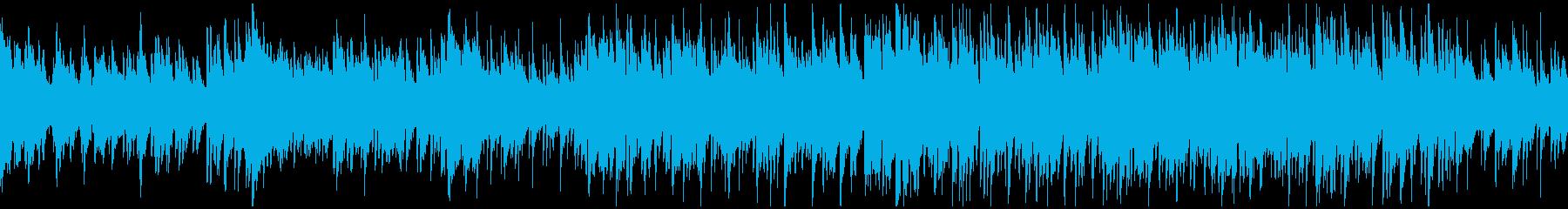 爽やかな切ないボサノバ・ジャズ※ループ版の再生済みの波形