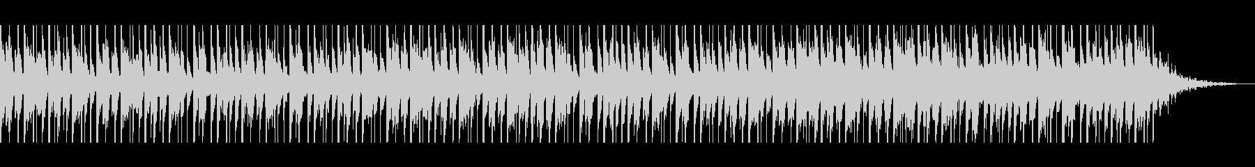アラビア語(60秒)の未再生の波形