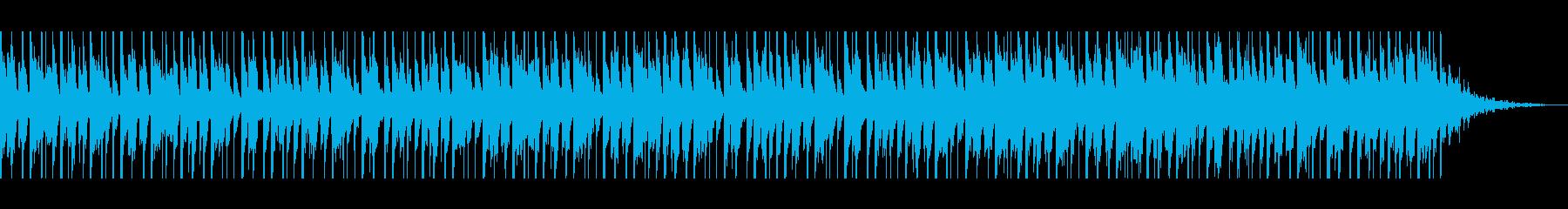 アラビア語(60秒)の再生済みの波形