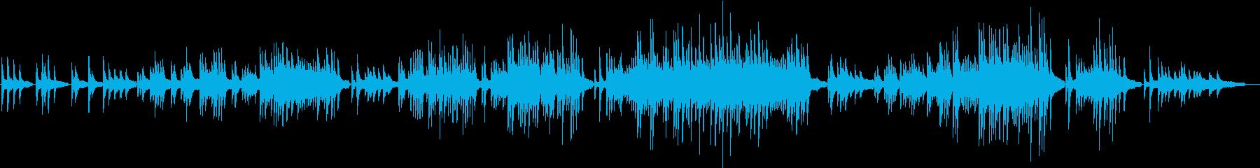ドラマチックな朧月夜ピアノソロの再生済みの波形