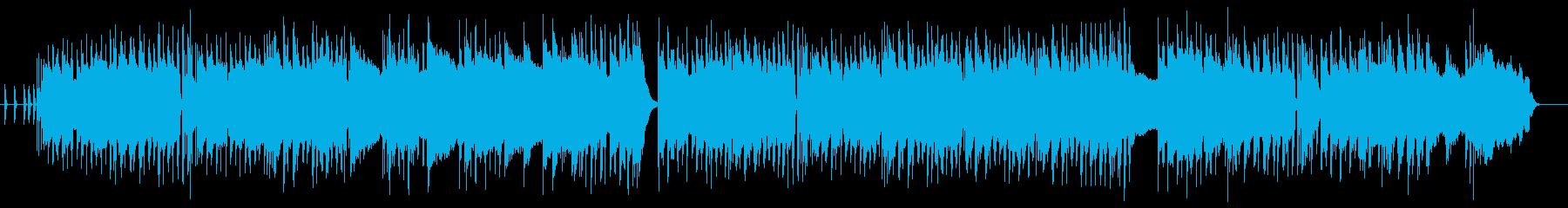 フルートとアコギのアップテンポカントリーの再生済みの波形