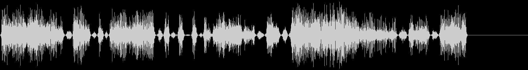 モンスターアングリー2の未再生の波形