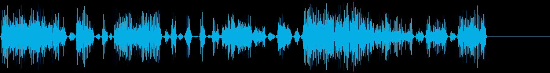 モンスターアングリー2の再生済みの波形