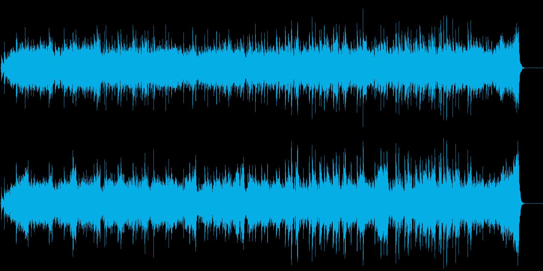 優しい音色の和風曲【琴とアコギ】の再生済みの波形