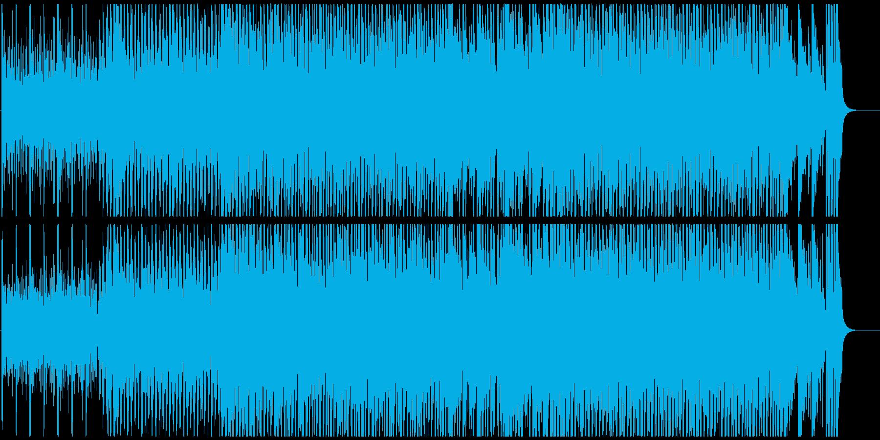 夏ポップ 爽やかなアップビートの再生済みの波形