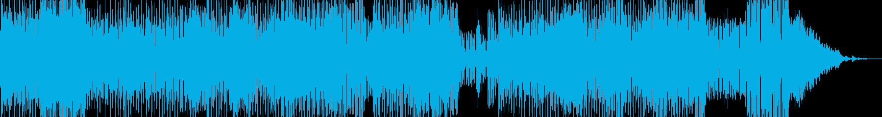 雲海・浮遊感漂う中華テクノポップ 短尺の再生済みの波形