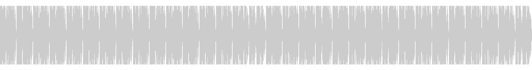 わくわく×ポップ×期待膨らむメニュー画面の未再生の波形