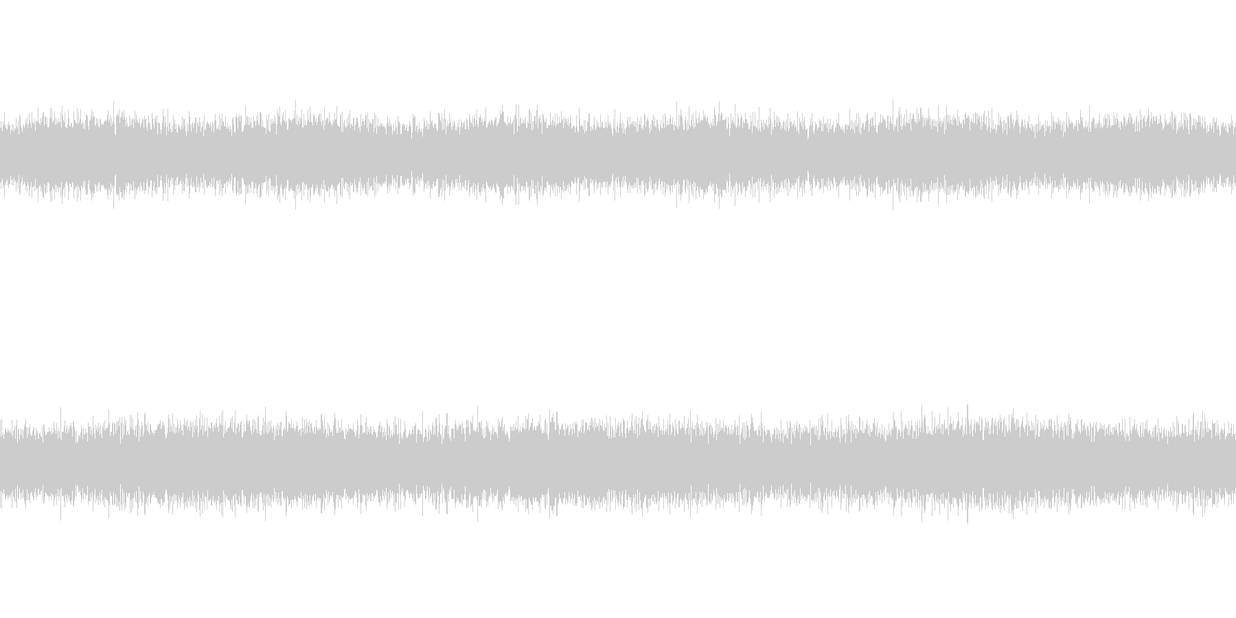 [風音1] 強風・暴風・環境音(ループ)の未再生の波形