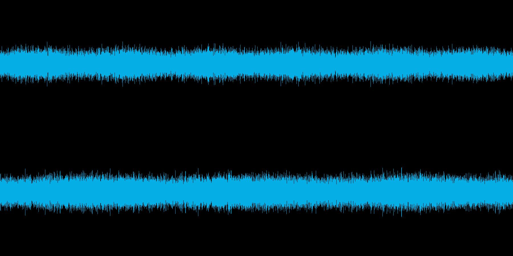 [風音1] 強風・暴風・環境音(ループ)の再生済みの波形