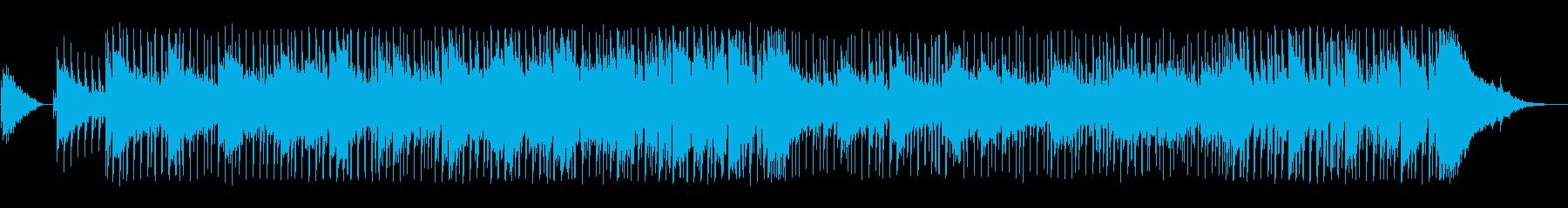 エレクトロニック アクション 説明...の再生済みの波形