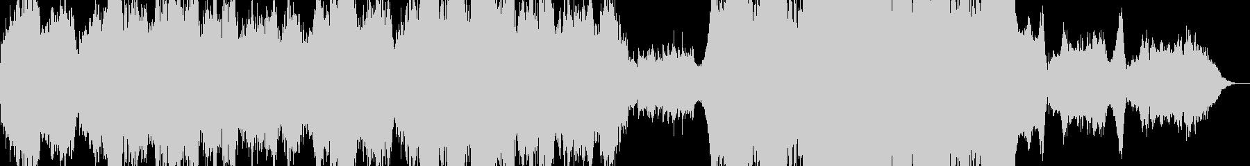 オーケストラ クワイヤー 感動の未再生の波形