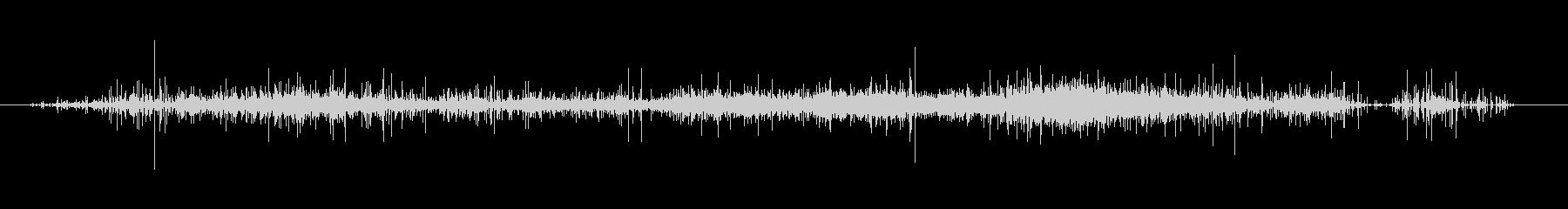 レインスティックスロー02の未再生の波形